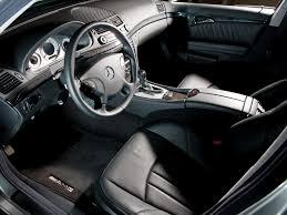 interior mercedes benz e 55 amg north america w211 u00272003 u201306