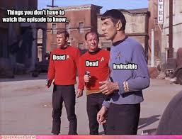 Star Trek Red Shirt Meme - 38 best red shirt jokes star trek images on pinterest red shirt