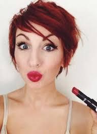 is a pixie haircut cut on the diagonal best 25 red pixie ideas on pinterest red hair pixie cut red