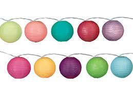 White Paper Lantern String Lights by Chinoiserie Chic Chinoiserie Chic Christmas Chinese Paper