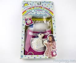 my pony purse baby sleepy pie vintage g1 pony purse ponyology a my pony