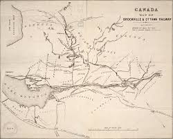 Canadian Pacific Railway Map Railroads Ontario Maps Toronto Public Library