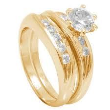 yellow gold wedding rings 18ct gold wedding rings set ebay