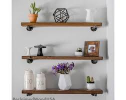 Hanging Floating Shelves by Any Size Quick Install Floating Shelf Floating Shelves
