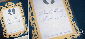 navy u0026 yellow wedding inspired by beauty u0026 the beast austin