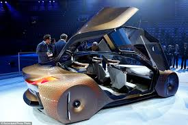 bmw future car bmw shows concept car for the self driving future daily mail