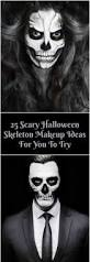 The 15 Best Sugar Skull Makeup Looks For Halloween Halloween by Photos We Tried A Skull Mask Makeup Halloween Tutorial 55 Scary