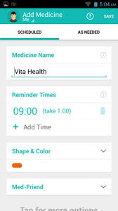 android reminders 5 free pill reminder apps for android