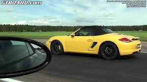 yellow porsche boxster porsche boxster s pdk vs porsche 911 carrera 2s convertible 997