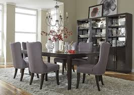 espresso dining room set transitional dining room chairs