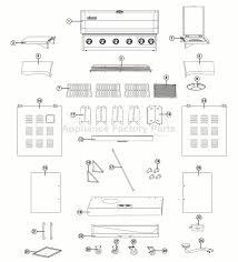 Brinkmann Dual Gas Charcoal Grill by Brinkmann 810 3660 S Bbq Parts