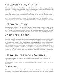 history trick or treating