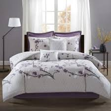size queen purple comforter sets for less overstock com
