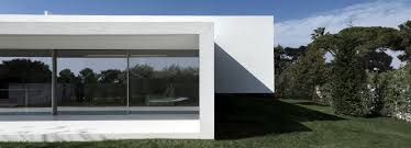 Breeze House Floor Plan by Fran Silvestre Intersects Two Volumes To Form Breeze House In Spain