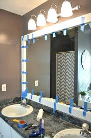 Frames For Bathroom Wall Mirrors Wall Mirrors Use To Hold Frame While It Dries Frames For
