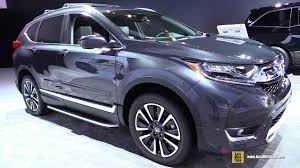 honda crv accessories 2007 2017 honda crv touring awd exterior and interior walkaround