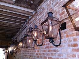 French Quarter Gas Lanterns by Gas Lights Bevolo Lighting New Orleans Blogtournola