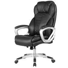 Blue Leather Executive Office Chair Pu Leather Executive Office Chair Office Chairs Office Within Grey
