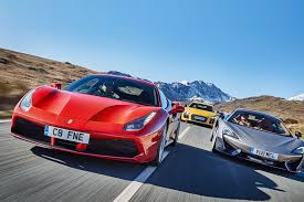 bugatti lamborghini ferrari mix our kind of eu summit ferrari 488 gtb vs mclaren 570s vs audi r8