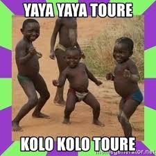 Kolo Toure Memes - yaya yaya toure kolo kolo toure african kids dancing meme generator