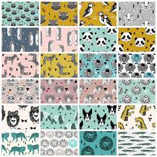 kid ish animal print fabrics bundle mini outfitters