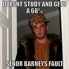 Spanish Teacher Memes - justin barney spanish teacher issues grades internet meme style