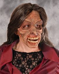 halloween costume with mask slash zombie monster mask zagone studios