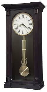 Wooden Wall Clock Clockway Howard Miller Westminster Chiming Wooden Wall Clock In