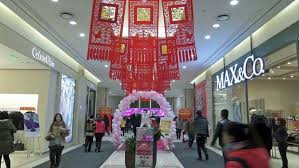 s day shopping photo essay s day and lantern festival in china