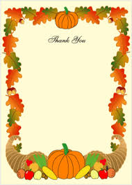 thanksgiving invitations personalized harvest border cards