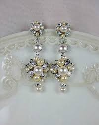 bridal chandelier earrings wedding earrings