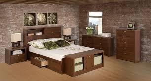 bedroom appealing interior bedroom furniture sets brown walnut