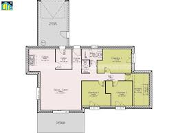 plan maison de plain pied 3 chambres maison plain pied 3 chambres bretagne