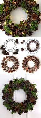 30 wonderful diy wreaths pine cone abundance and pine