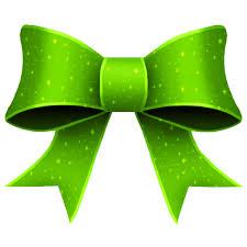green bows happy holidays
