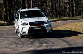sti subaru 2016 white 2016 subaru forester ts sti review video performancedrive