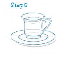 how to draw a tea cup beginning u2013 sketch2draw com