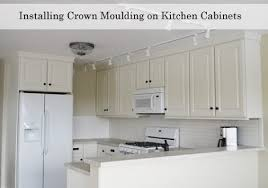 crown kitchen cabinet crown molding tops thediapercake crown molding for kitchen cabinets stylish adding moulding to wall