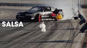 drift cars 240sx pro drifter matt powers makes burrito with nissan 240sx drift car