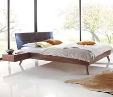 Platform Bed Uk Hasena Wood Line Modern Solid Wooden Beds Head2bed Uk