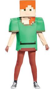minecraft steve costume boys steve costume minecraft party city