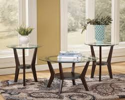 ashley furniture round coffee table fantastic ashley furniture glass coffee table f20 in creative home