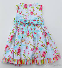 sew vintage inspired easter dresses for baby and big sister the