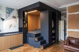 chambre comtemporaine une chambre contemporaine dans un studio à strasbourg denis