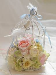 ring holder for wedding birdcage ring bearer wedding ring holder chelsea white