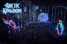 Pictures Of Christmas Lights by Enchanted Garden Of Lights Rock City