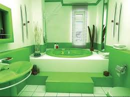 green painted bathrooms home design
