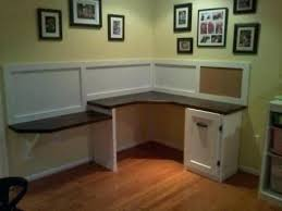 Diy Built In Desk Built In Corner Desk Home Office Desk Built In Custom
