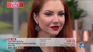 hsn lisa klein fine jewelry premiere 07 28 2017 02 am youtube