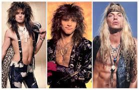 big hair in the 80s rock u0027s leading men